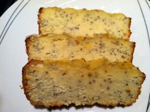 Lemon Chia Seed Poundcake